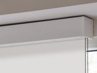Kompaktes Kassettenrollo für den Objektbereich