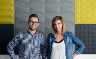 Aftersales-Team Christoph Hinterberger und Ines Lindschinger