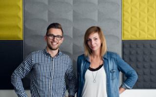 Aftersales-Team Christoph Hinterberger und Ines Lindschinger