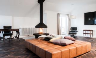 Suite im Hotel Weitzer Graz mit Vorhanggarnituren von LEHA
