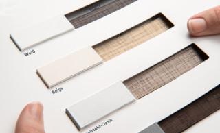 Hochwertige Schienenfarben als handliche Musterkarte