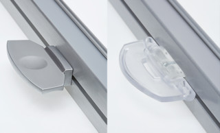 Metallgriff und Kunststoffgriff für Plissee, Duette und Jalousie