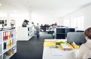 Bürobereich bei LEHA