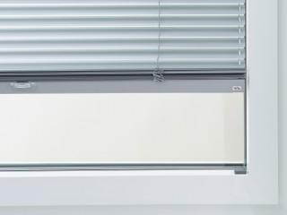 Jalousie in die Glasleiste am Fensterfalz montiert, Typ Varioline