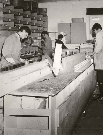 1974: LEHA Werkstatt